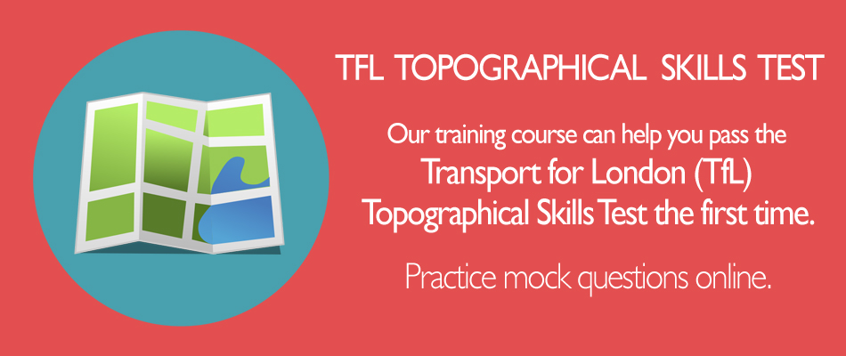 How to Book TfL Topographical Skills Map Test, Practice